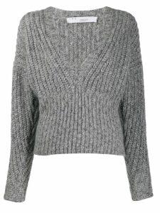 Iro knitted long sleeve jumper - Grey