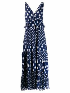 Diane von Furstenberg Isha printed maxi dress - Blue