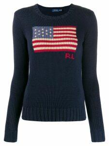 Polo Ralph Lauren U.S.A. flag jumper - Blue