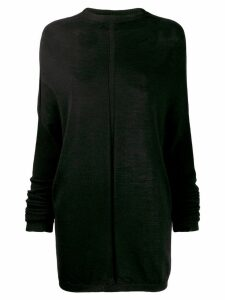 Rick Owens funnel neck jumper - Black
