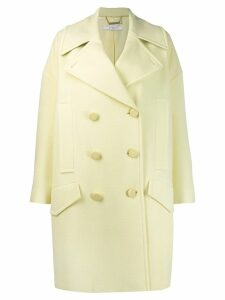 Givenchy oversized peacoat - Yellow