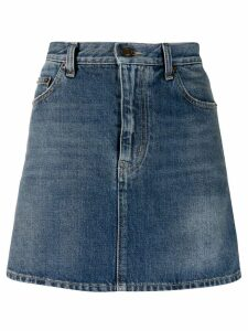 Saint Laurent denim mini skirt - Blue
