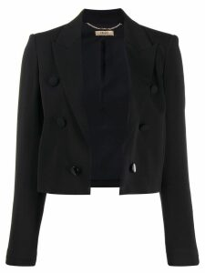 LIU JO cropped blazer - Black