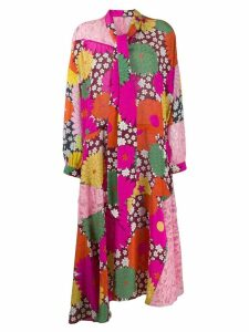 Dodo Bar Or Ossi floral-print shirt dress - Pink