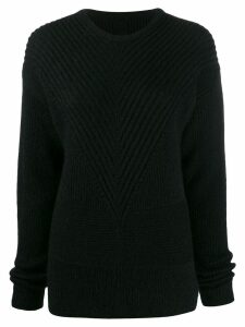 Rick Owens ribbed knit jumper - Black