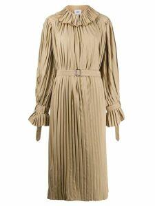 Atu Body Couture pleated midi dress - Neutrals