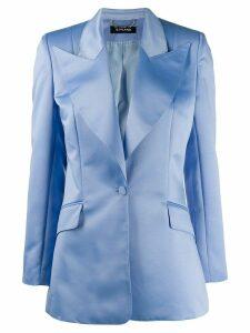 Styland oversized lapel blazer - Blue