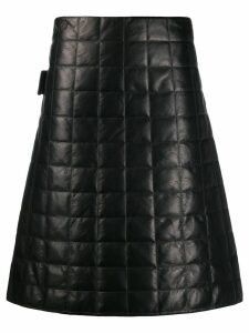 Bottega Veneta matellasse nappa skirt - Black