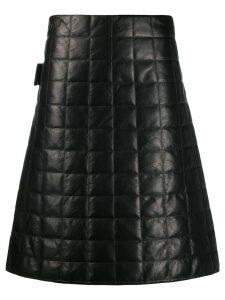 Bottega Veneta matellasse nappa skirt - Black