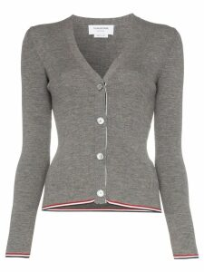 Thom Browne V-neck cardigan - Grey