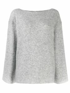 3.1 Phillip Lim bell sleeved sweater - Grey