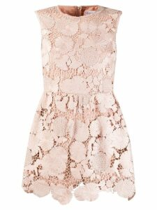 Red Valentino lace playsuit - Neutrals