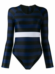 Perfect Moment stripe spring suit - Blue