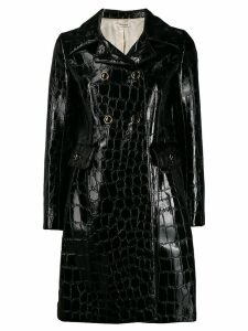 Miu Miu double-breasted coat - Black