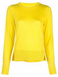 Proenza Schouler Merino Crewneck Top - Yellow