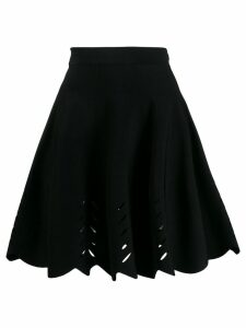 Alexander McQueen petal shaped skirt - Black