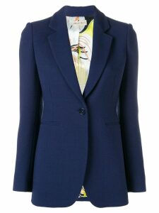 Emilio Pucci Single-Breasted Blazer - Blue