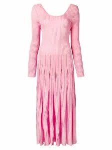 MSGM ribbed knit dress - Pink