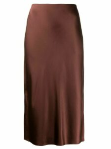 Joseph slip skirt - Brown