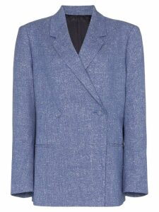 Toteme Loreo double-breasted jacket - Blue