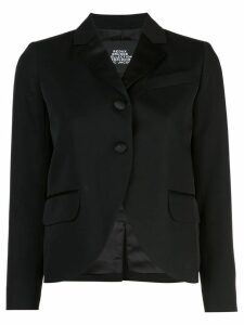 Marc Jacobs curved hem blazer - Black