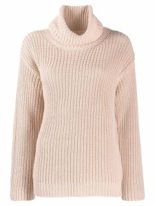 Red Valentino I have a crush on you knit sweater - Pink