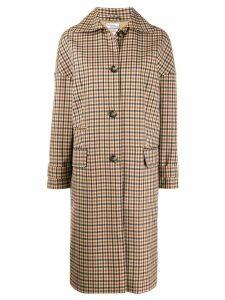 Baum Und Pferdgarten check single-breasted coat - Neutrals