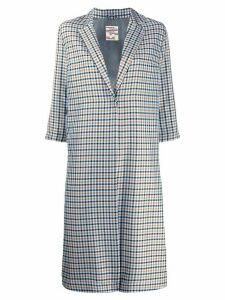 Baum Und Pferdgarten check tailored coat - Blue