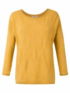 Mara Mac textured knit blouse - Yellow