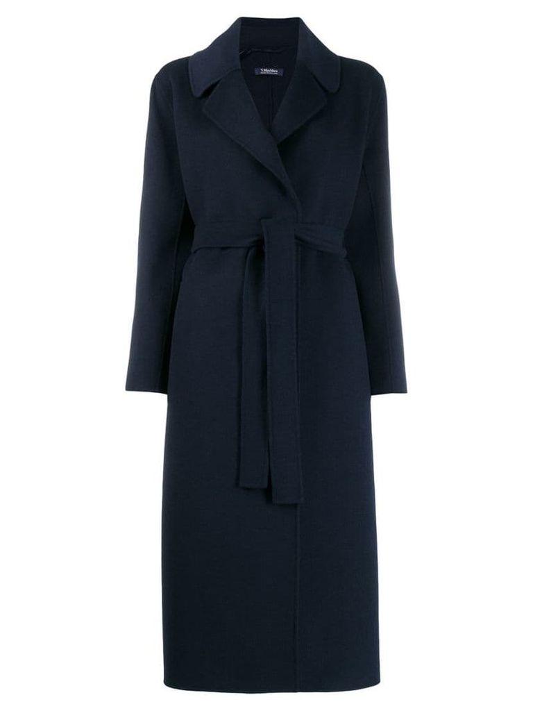 'S Max Mara belted coat - Blue