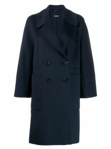'S Max Mara double-breasted coat - Blue