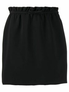 Miu Miu ruched waist skirt - Black