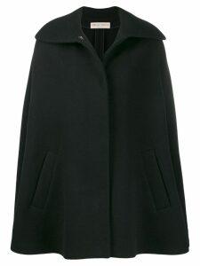 Emilio Pucci oversized poncho coat - Black