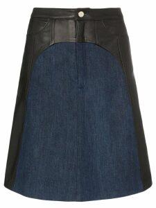 Skiim Anton panelled skirt - Black