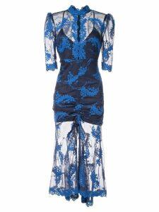 Alice Mccall Honeymoon midi dress - Blue