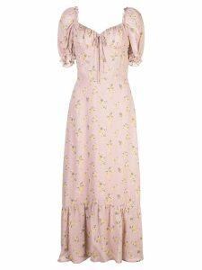 Reformation Cabernet dress - Pink