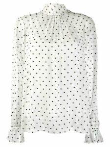 Zimmermann Dot blouse - White