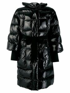Red Valentino cropped puffer jacket - Black