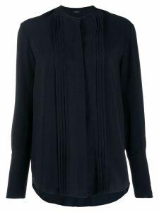 Joseph long-sleeve pleated blouse - Blue