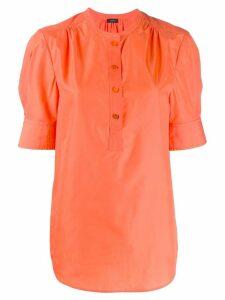 Joseph short-sleeve shift blouse - Orange