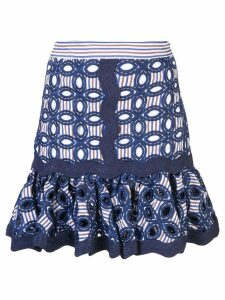 Alexis Sheila embroidered skirt - Blue