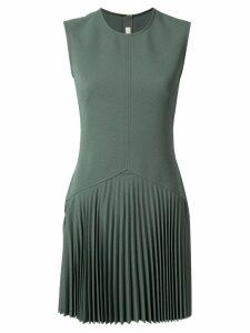 Dion Lee Annex pleat mini dress - Green