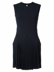 Dion Lee Annex pleat mini dress - Blue