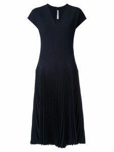 Dion Lee Annex pleat dress - Blue