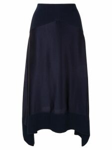 Dion Lee Transfer skirt - Blue