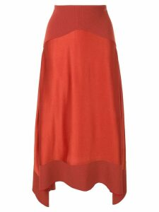 Dion Lee Transfer skirt - Red