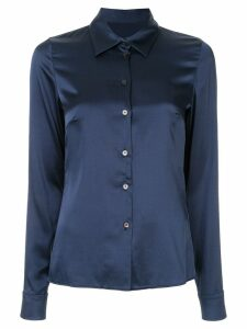 Dion Lee satin shirt - Blue