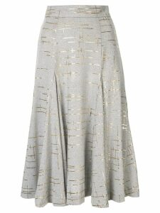 Bambah marble knit skirt - Grey