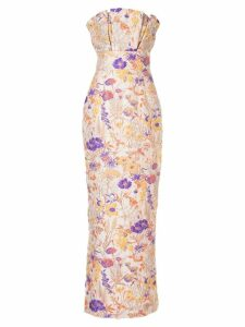 Bambah Florence pencil gown - Multicolour
