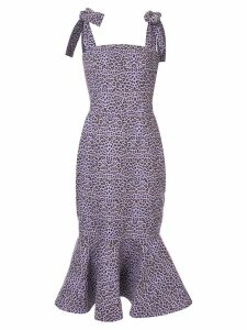 Bambah Leopard mermaid dress - PINK